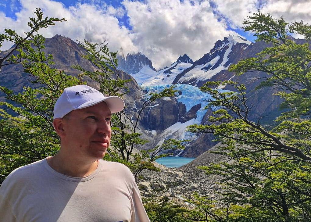 Льодовик Piedras Blancas в Патагонії