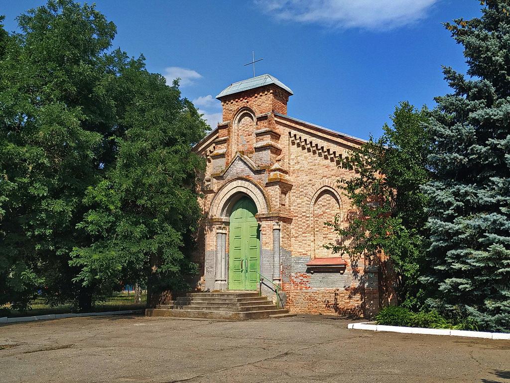 Костел в селі Григорівка
