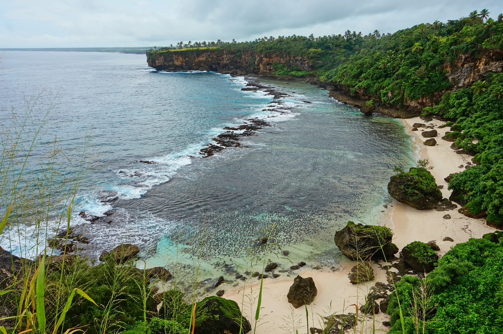 Пляж на південному березі острова Тонгатапу