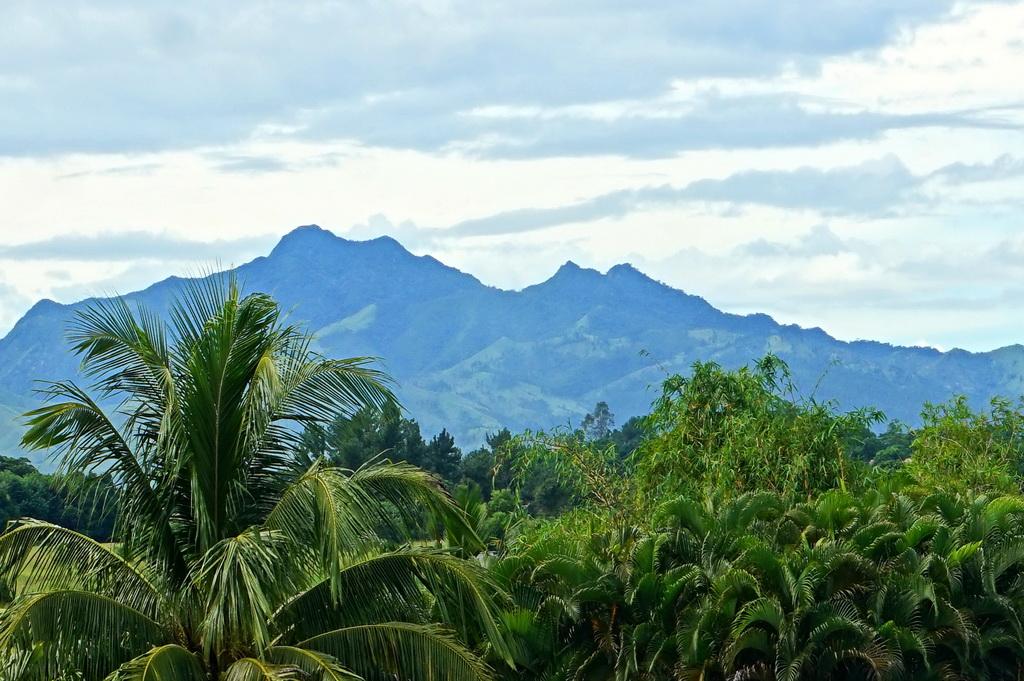 Фіджі: вид з кімнати готеля Fiji Gateway Hotel