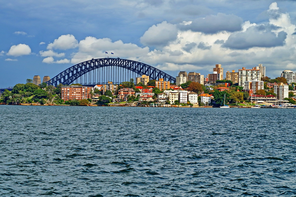 Сідней: Harbor Bridge та район Kirribilli